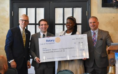 $150K Youngstown Rotary Gift Establishes New Scholarship at YSU