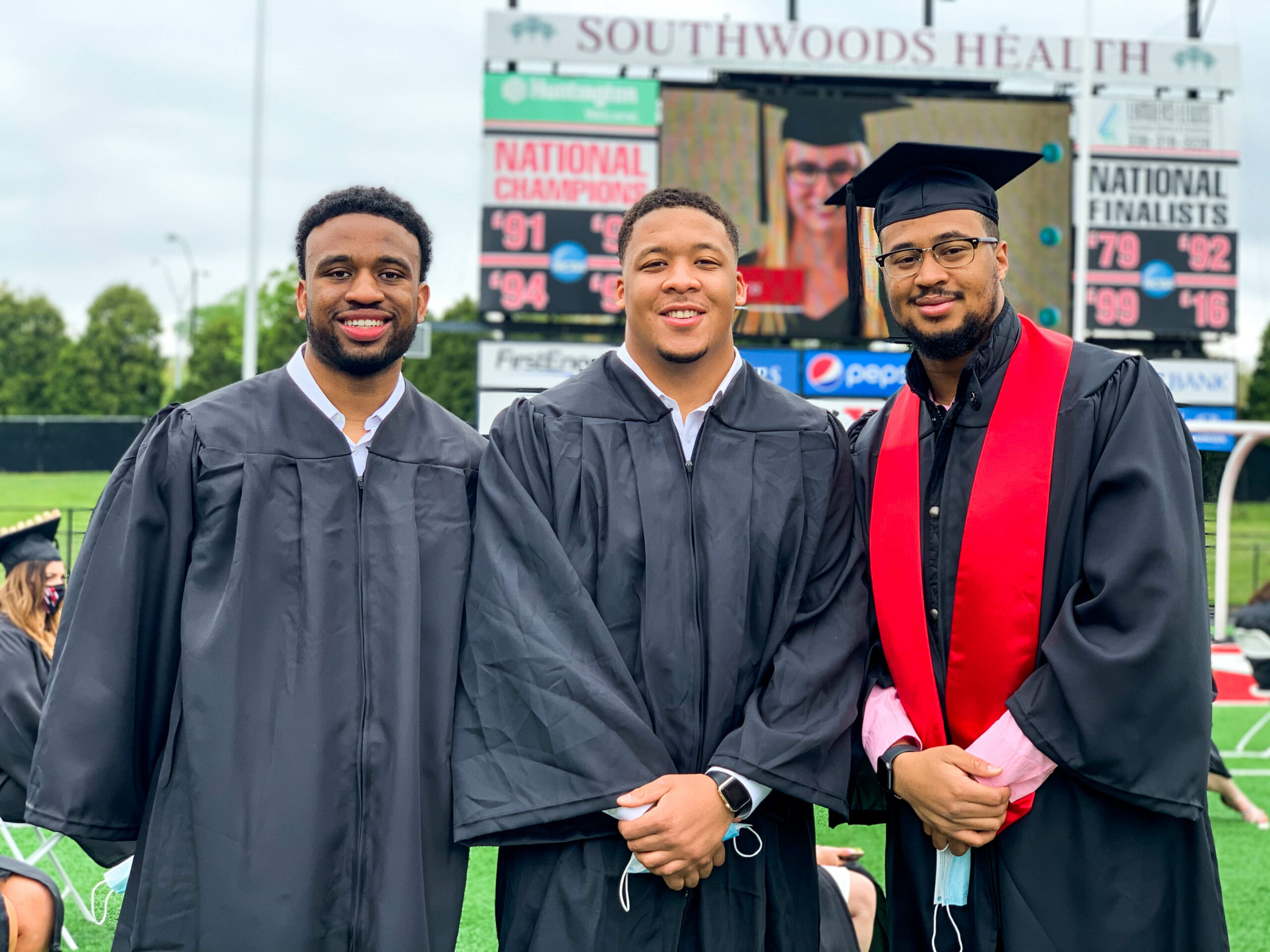 YSU students at Spring 2021 Commencement