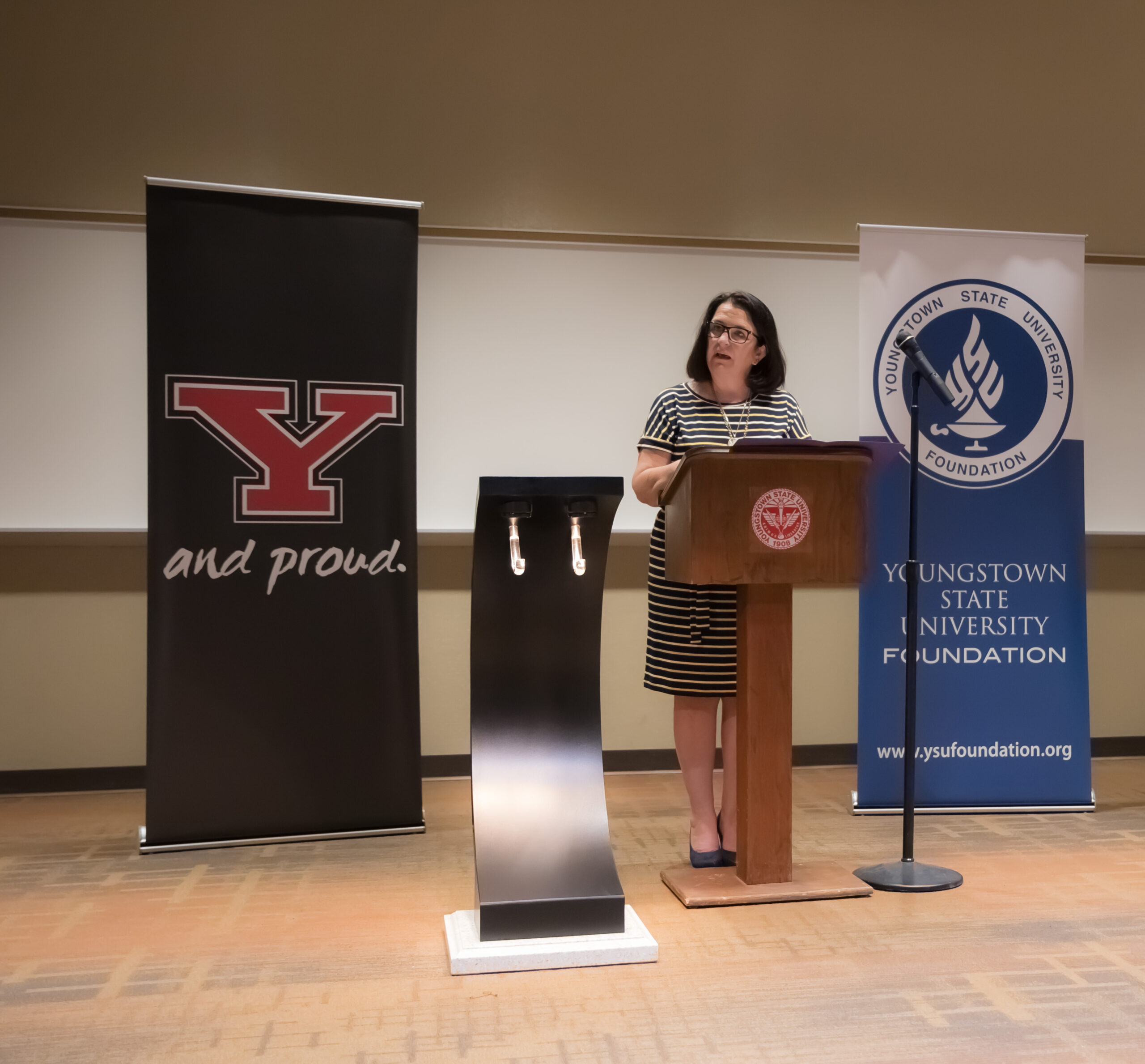 Dr. Pallante Bestowal Ceremony at YSU