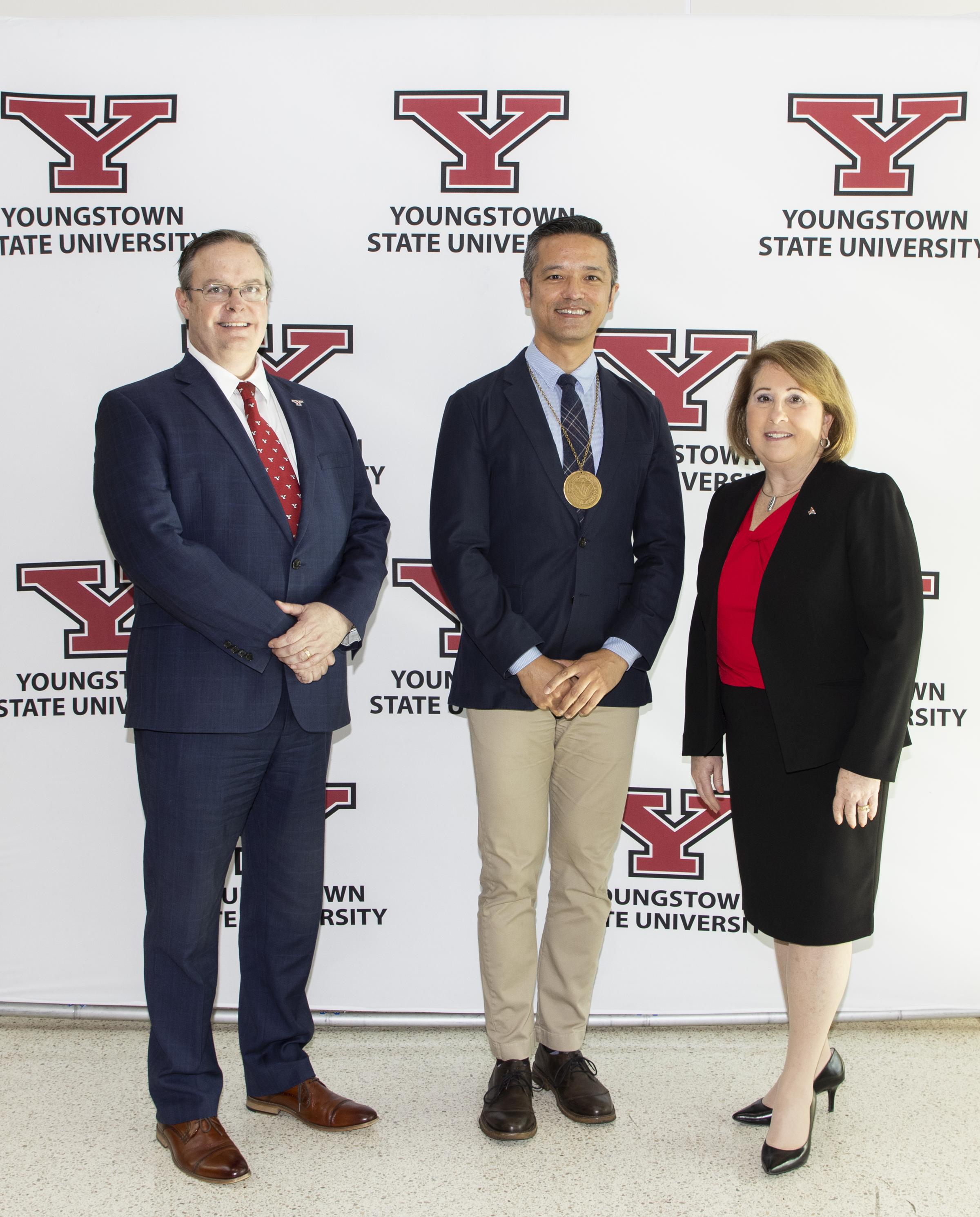 Endowed faculty at YSU